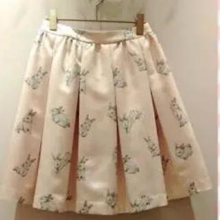 フランシュリッペ(franche lippee)のフランシュリッペ うさぎ スカート(ひざ丈スカート)