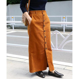 IENA - IENA コール前ボタンスカート