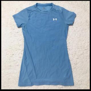 アンダーアーマー(UNDER ARMOUR)のアンダーアーマー レディース Tシャツ アンダーシャツ(トレーニング用品)