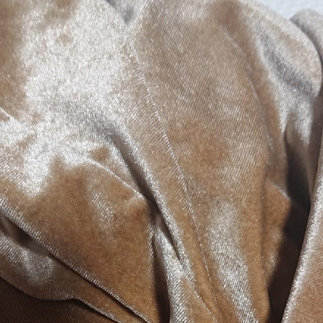 merlot(メルロー)のmerlotベロアパンツ レディースのパンツ(カジュアルパンツ)の商品写真