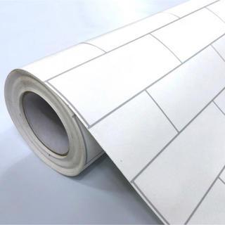 壁紙シール タイル柄 HWP-21652 50cm×3m はがせる壁紙