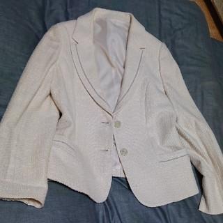リオマル スーツ 13号 入学式 クリーム色(スーツ)
