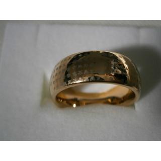 純金リング 美品 14・22g 甲丸リング K24(リング(指輪))