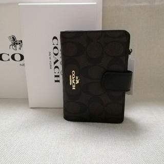 COACH - 新品!コーチ 折り財布 F53562 コーラル