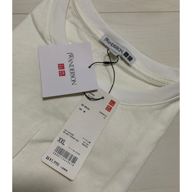 UNIQLO(ユニクロ)の【ユニクロJWアンダーソン】ラッフルT レディースのトップス(Tシャツ(半袖/袖なし))の商品写真