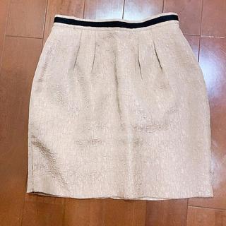 ミッシュマッシュ(MISCH MASCH)のミッシュマッシュ くすみピンク タイトスカート(ひざ丈スカート)