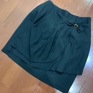 ミッシュマッシュ(MISCH MASCH)のミッシュマッシュ 黒 タイトスカート(ひざ丈スカート)