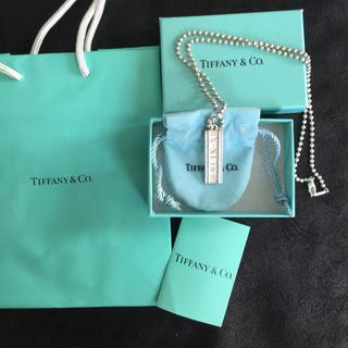 ティファニー(Tiffany & Co.)のティファニー アトラスプレートネックレス(ネックレス)
