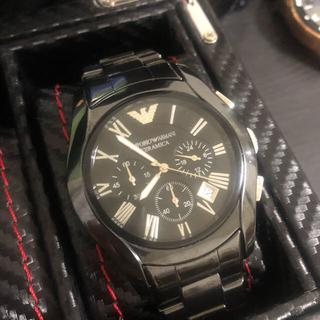 Emporio Armani - 美品 アルマーニ  腕時計 セラミカ シャネル オメガ ロレックス