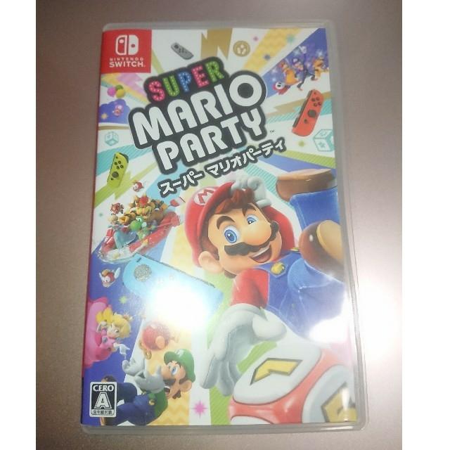 Nintendo Switch(ニンテンドースイッチ)のスーパーマリオパーティ ニンテンドースイッチ ソフト エンタメ/ホビーのゲームソフト/ゲーム機本体(家庭用ゲームソフト)の商品写真