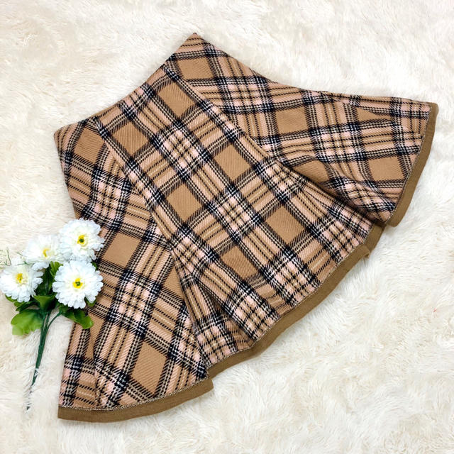31 Sons de mode(トランテアンソンドゥモード)のトランテアン ♡ チェック柄タックスカート ♡ レディースのスカート(ミニスカート)の商品写真