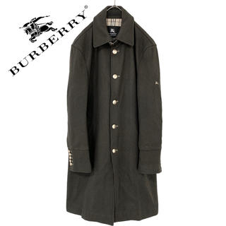 バーバリーブラックレーベル(BURBERRY BLACK LABEL)のburberry  バーバリー  ナポレオンジャケット コート 冬物 メンズ(ダッフルコート)