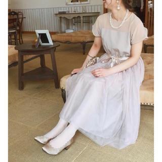 メルロー(merlot)の結婚式 二次会 ドレス ワンピース(ミディアムドレス)
