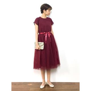 メルロー(merlot)の結婚式 二次会 お呼ばれ ドレス ワンピース メルロープリュス(ミディアムドレス)