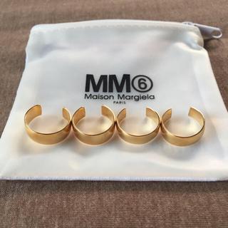 Maison Martin Margiela - M新品 マルジェラ MM6 4連リング 18SS ゴールド