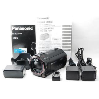 Panasonic - 〓人気機種〓 Panasonic HC-WX970M-K バッテリー2つ付き!★