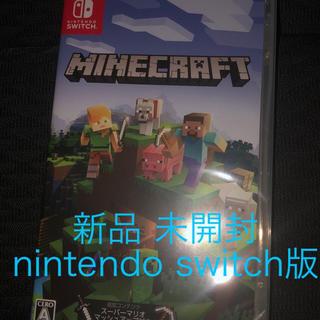Nintendo Switch - 新品 Minecraft マインクラフト Nintendo Switch版