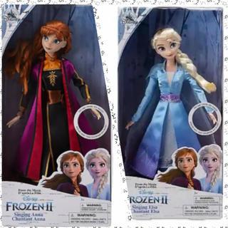 アナトユキノジョオウ(アナと雪の女王)のディズニーアナ雪2シンキングドール アナ&エルサ(キャラクターグッズ)