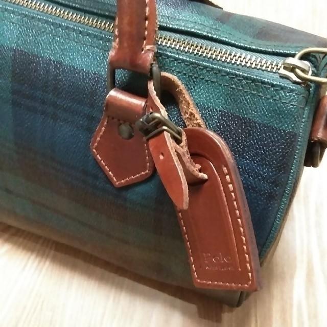 POLO RALPH LAUREN(ポロラルフローレン)の【送料込:美品】ラルフ・ローレン ボストンバッグ レディースのバッグ(ボストンバッグ)の商品写真