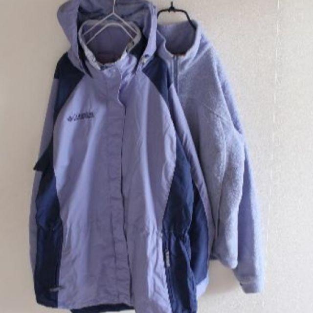 Reebok(リーボック)のUS リーボック ビッグロゴ コロンビア ジャケット メンズのトップス(パーカー)の商品写真