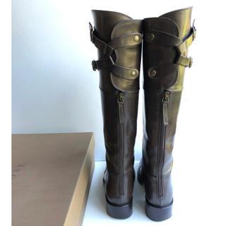 サルトル(SARTORE)の37 SARTORE サルトル  ダブルベルト ロングブーツ ブラウン  24(ブーツ)