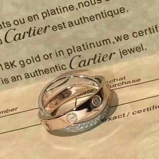 Cartier - カルティエ ラブリング フルダイヤ