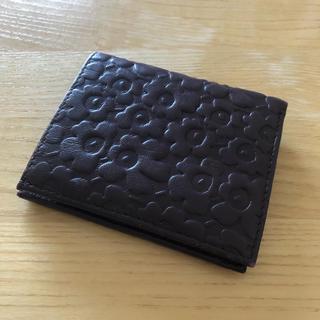 マリメッコ(marimekko)のマリメッコ  レザー 財布(財布)