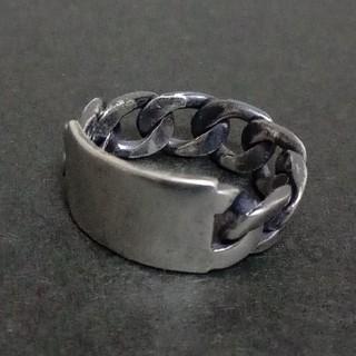 テンダーロイン(TENDERLOIN)のシルバー925 IDプレート チェーンリング(リング(指輪))