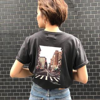 アングリッド(Ungrid)のungrid バックフォトプリントT(Tシャツ(半袖/袖なし))