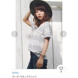 ジェイダ(GYDA)のGYDA Tシャツ ボーダー(Tシャツ(半袖/袖なし))