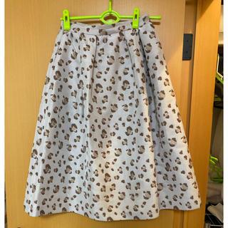 ノエラ(Noela)のノエラ レオパード柄スカート(ひざ丈スカート)