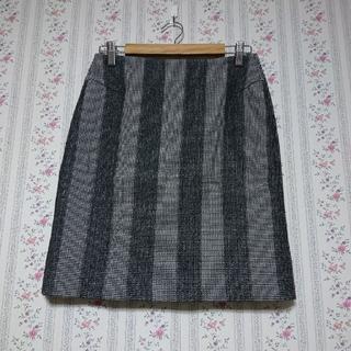 IENA - ニードルパンチ ミニタイトスカート