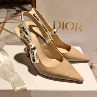 クリスチャンディオール(Christian Dior)のDIOR パンプス サイズ37(ハイヒール/パンプス)