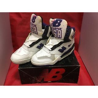 ニューバランス(New Balance)の★90s!希少レア!ニューバランス P910 NB 白/紫/黒 ビンテージ⑨★(スニーカー)