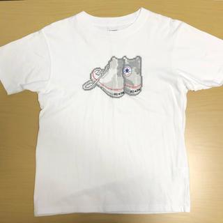 CONVERSE - CONVERSE All Star Tシャツ S ホワイト シューズ