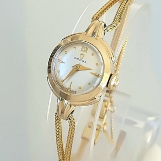 オメガ(OMEGA)の⭐OH済 極希少 綺麗 オメガ レディースウォッチ 時計 七五三 卒業式も 美品(腕時計)