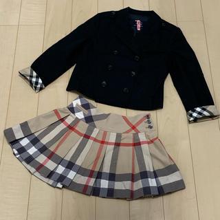 BURBERRY - バーバリー フォーマル ジャケット スカート