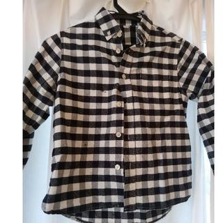 MUJI (無印良品) - 無印良品チェックシャツ