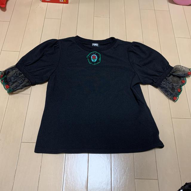 PAMEO POSE(パメオポーズ)のPAMEO POSE トップス カットソー レディースのトップス(カットソー(半袖/袖なし))の商品写真