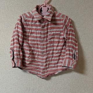 ベビーギャップ(babyGAP)のbabyGAP/95 2wayリバーシブルチェックシャツ(ブラウス)