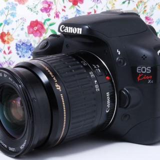 キヤノン(Canon)の★使いやすくて高画質★Canon kiss x4 レンズセット(デジタル一眼)