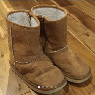 アンパサンド(ampersand)のAMPERSAND ムートンブーツ size19cm(ブーツ)