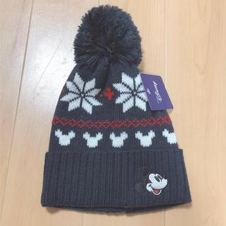 Disney - 新品未使用 キッズニット帽 53-55