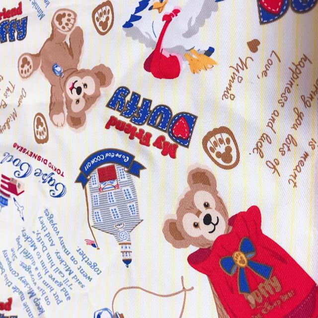 Disney(ディズニー)のダッフィー 生地  ハンドメイドの素材/材料(生地/糸)の商品写真