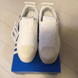 adidas - 23cm アディダス スリッポン ホワイト SS BW35 SLIPON W