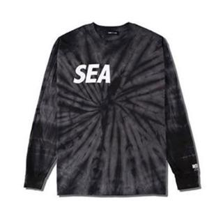 Wind and sea SEA BLACK TIE-DYE L/S