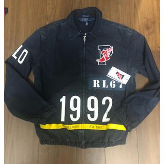 ポロラルフローレン(POLO RALPH LAUREN)のポロ ラルフローレン 1992 スタジアム インディゴ ジャケット polo (ブルゾン)