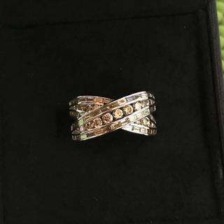 ブラウンダイヤモンドリング 14号(リング(指輪))