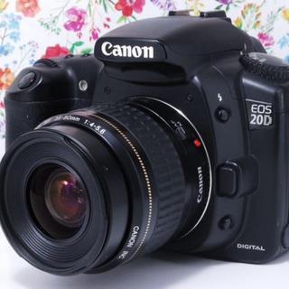 キヤノン(Canon)の◆ベストセラー機種◆Canon EOS 20Dレンズセット♪(デジタル一眼)