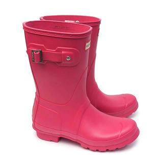 ハンター(HUNTER)の新品♡ブライトピンク レインシューズ 長靴(レインブーツ/長靴)